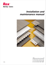 Installation and mantenance manual