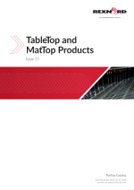 Productos TableTop y MatTop