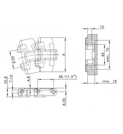 HP 879 TAB BO-K450