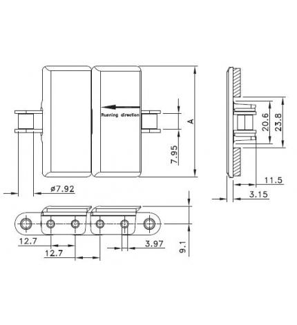 LF 843 SS-K325