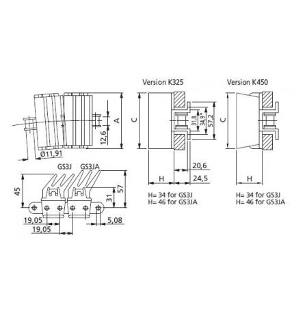 HP 1873 TABSS-K325 GS3J