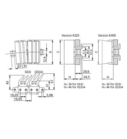 HP 1873 TABSS-K450 GS3J