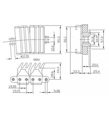HP 1873 TABSS-K375 GS3J