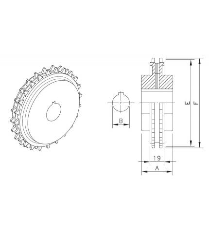 KU 8500 T25 R50