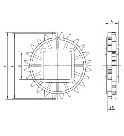 CS 1000 20-40x40 POM