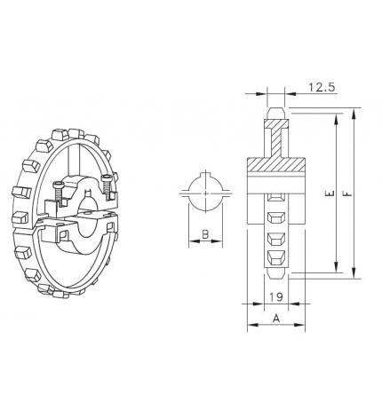 NS 7700 T18 R25