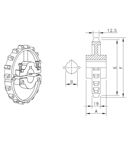 NS 7700 T21 R25