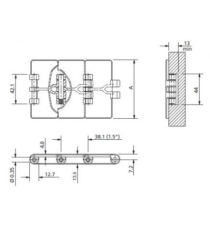 LF 820-K325 pasador de plástico